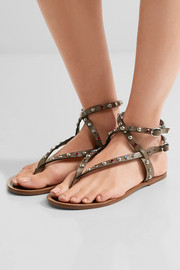 Isabel Marant Audrio embellished leather sandals