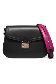 Valentino Cabana two-tone leather shoulder bag