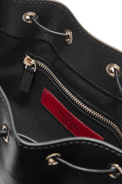 Valentino Rockstud Bucket Schultertasche aus Leder Besuchen Neu Zu Verkaufen Beste Günstig Online Billig Große Überraschung Spielraum Perfekt Freies Verschiffen 2018 Neue 7lVbq5XEP