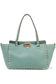 Valentino The Rockstud small textured-leather tote