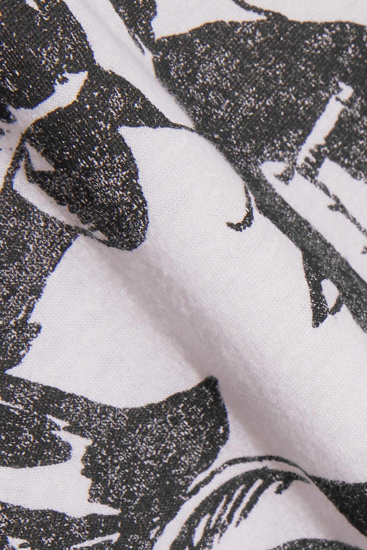 R13 Sonic Youth T-Shirt aus bedrucktem Jersey aus einer Baumwoll-Kaschmirmischung