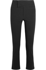 Ovida cropped stretch cotton-blend skinny pants