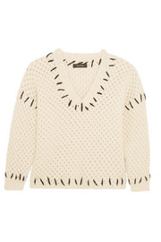 Goldy chunky-knit wool-blend sweater