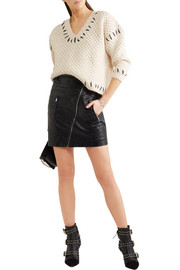 Isabel Marant Goldy chunky-knit wool-blend sweater