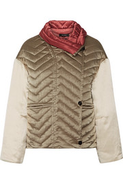 Isabel Marant Hector padded silk-shell jacket