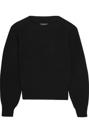 Fidji ribbed cotton-blend sweater