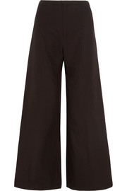 Isabel Marant Spanel cotton and linen-blend wide-leg pants