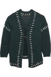 Isabel Marant Gent oversized wool-blend cardigan