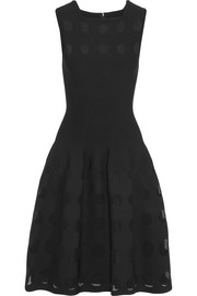 Alaïa Laser-cut knitted dress