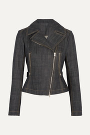 Alaïa Denim biker jacket