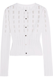 Alaïa Stretch-knit cardigan