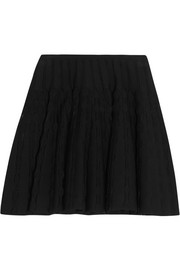 Alaïa Stretch-knit mini skirt