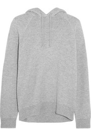 T by Alexander Wang Wool and cashmere-blend hooded top