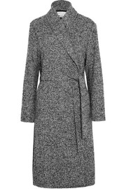 T by Alexander Wang Wool-blend bouclé coat