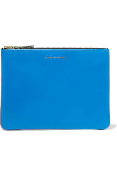 Super Fluo Neon Leather Wallet - Bright blue Comme Des Gar?ons u3w8I3t4wN