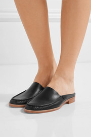 Kate leather slippers