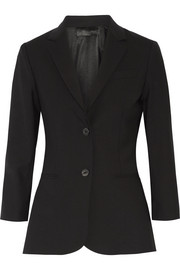 Schoolboy stretch wool-blend blazer