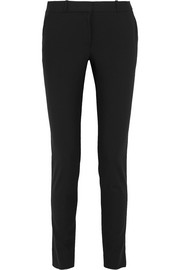 The Row Franklin stretch wool-blend straight-leg pants