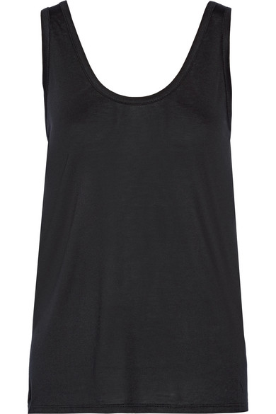 The Row - Thomaston Jersey Tank - Black