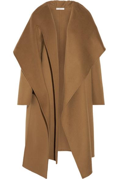 Barbara Casasola - Draped Wool And Alpaca-blend Coat - Camel