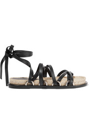 Adriana leather espadrille sandals