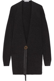 Helmut Lang Oversized wool and cashmere-blend cardigan