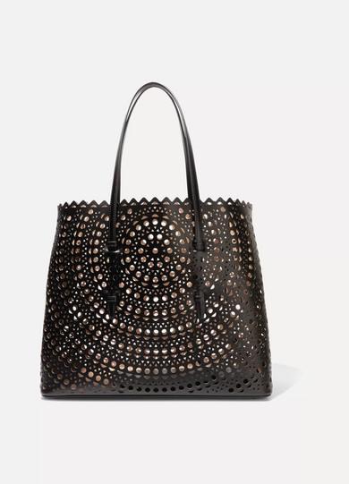 Ala 239 A Vienne Laser Cut Leather Tote Net A Porter Com