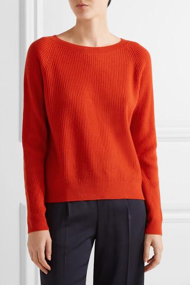 Vince | Ribbed cashmere sweater | NET-A-PORTER.COM