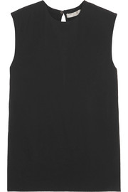 Vince Stretch-crepe top