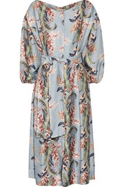 Zimmermann Winsome printed twill dress