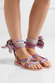 Brother Vellies Zanzibar woven canvas sandals