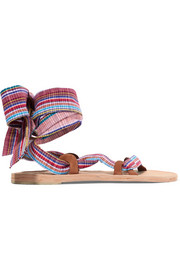 Zanzibar woven canvas sandals
