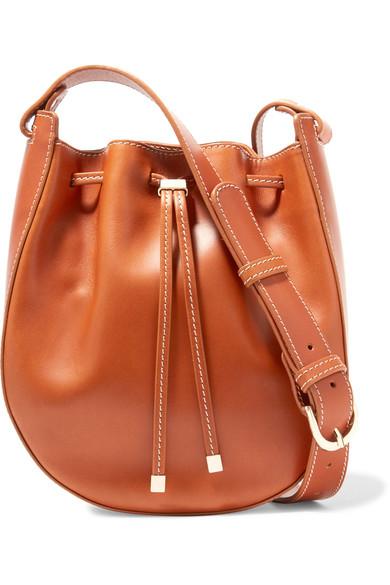 Vanessa Seward - Dakota Leather Bucket Bag - Tan