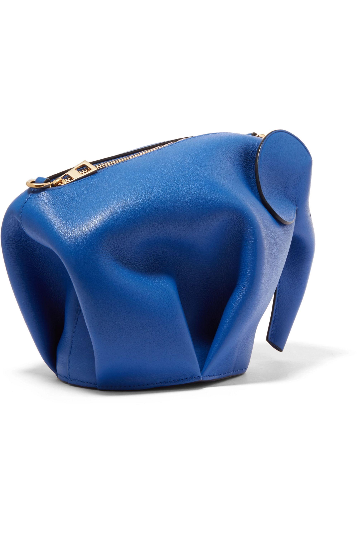 Loewe Elephant leather shoulder bag