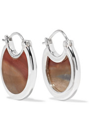 Pamela Love Mojave silver jasper earrings
