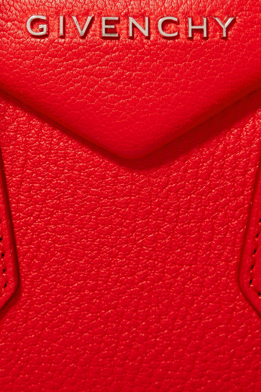 Givenchy Antigona mini textured-leather shoulder bag