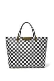 Givenchy Antigona Shopping large checked textured-leather tote
