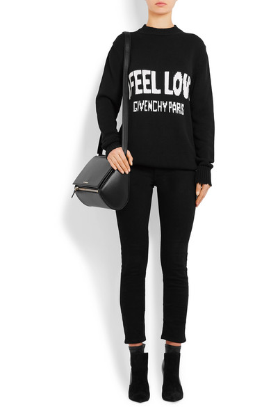 341429c817 Givenchy   Pandora Box medium textured-leather shoulder bag   NET-A ...