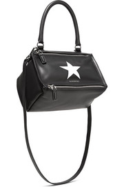 Givenchy Pandora small printed leather shoulder bag