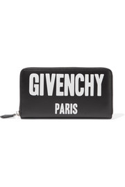 Givenchy Printed leather continental wallet