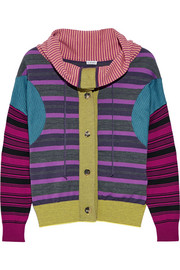 Loewe Striped wool-blend sweater