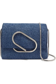 Alix micro denim shoulder bag
