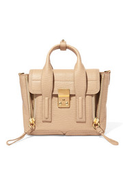 3.1 Phillip Lim Pashli mini textured-leather shoulder bag