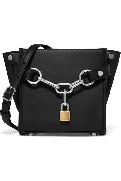 f1c5e53f1efb Alexander Wang | Attica Chain mini leather shoulder bag | NET-A ...