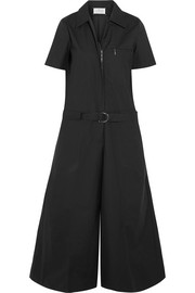 Maison Margiela Coated cotton-blend poplin jumpsuit