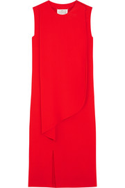 Maison Margiela Draped crepe dress