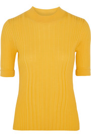 Maison Margiela Ribbed wool sweater