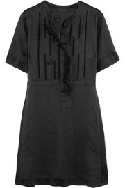 Isabel Marant Ariana ruffled broderie anglaise ramie mini dress