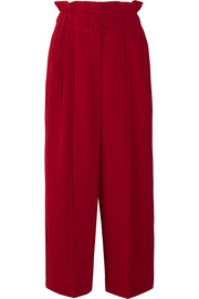 Sonia Rykiel Pleated crepe wide-leg pants