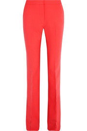 Victoria, Victoria Beckham Stretch wool-blend flared pants